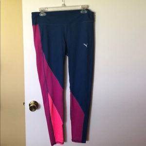 bb3878ccaa6da Women Pink Puma Leggings on Poshmark